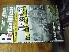 7µ? Revue Batailles Jour-J n°54 Alsace 1945 Tirpitz Dunkerque 1944  Nordwind