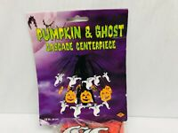 Beistle Halloween Pumpkin And Ghost Cascade Centerpiece Party Decor Sealed 2002