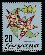 Guyana 1972 Sc # 140 Orchids Mnh (55512)