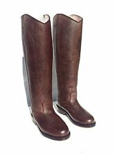 Polo Player Boots - Size 8 Men's - Western Slip On Brown