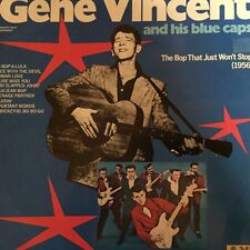 "GENE VINCENT & His Blue Caps - - THE BOP...Australian Axis 12"" LP EXC Rockabilly"