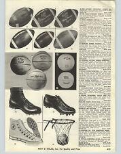 1958 PAPER AD Converse All Star Basketball Shoes Terry Brennan Lattner  Football 92665839f