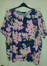 New Look Casual Floral Plus Size Tops & Shirts for Women