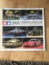 Vintage Tamiya Catalogue 2005 -- Latest Model Kits And RC Vehicles For That Year