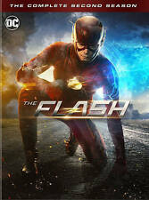 The Flash: The Complete Second Season (DVD, 2016, 6-Disc Set) EL