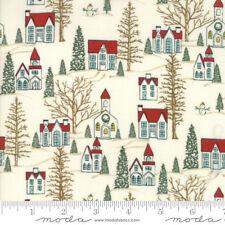 MODA Fabric ~ WINTER VILLAGE ~ by BasicGrey (30551 11) White - by 1/2 yard
