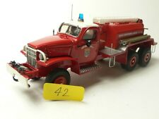 GMC SAPEURS POMPIERS RESIN BUILT KIT NO ORG. BOX 1:43
