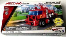Meccano Erector Junior - Rescue Fire Truck 163 Parts, Lights & Sound