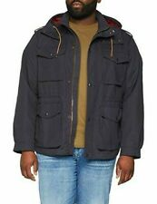 H# Jack And Jones Jprcaine Field Jacket Dark Navy Mens Size 4XL