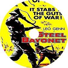 The Steel Bayonet DVD Leo Genn Kieron Moore Michael Medwin V Rare 1957