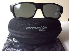 ARNETTE WAGER 204787 Sunglasses Gloss Black TranspFrame w GreyLensAN4144-04