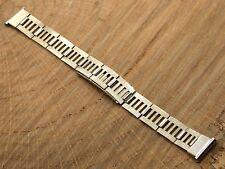 Vintage Antique White Gold Filled Skyhawk Identification watch band bracelet 5/8