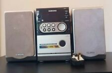 Samsung micro component system MP3-CD/CD-R/RW Playback Mm-ZJ6. Tested & working