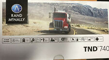 Rand McNally Truck Gps Tnd 740 Truck Tools New Open Box