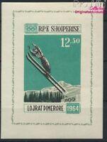 Albanien Block21 postfrisch 1963 Olymp. Winterspiele `64, Innsbruck (8927919