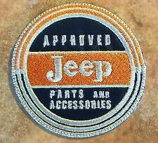 Love It or It's Jeep Approved Parts & Accesories Patch Vintage Iron on