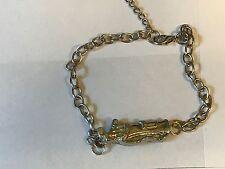 Golf Bag TG17 Fine English Pewter on a Anklet / Bracelet