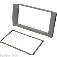 CT23CY02 CHERY NICE 2007 ONWARDS DOUBLE DIN FASCIA FACIA ADAPTER PANEL PLATE