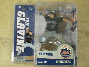 VINTAGE McFarlane Toys MLB NEW YORK METS TOM GLAVINE 2005 NEW IN BOX SERIES 12
