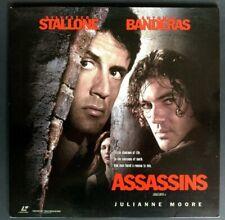 LASERDISC Assassins - Sylvester Stallone / Antonio Banderas