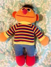 "Vintage Sesame Street ERNIE 11"" Playskool Soft Plush Doll Toy *WoW*"