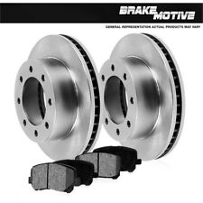 Rear Brake Rotors And Metallic Pads For Chevy Silverado GMC Sierra 2WD 4WD