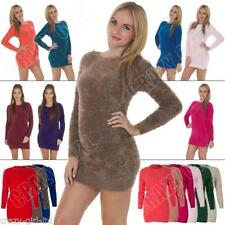 Patternless Winter Plus Size Dresses for Women