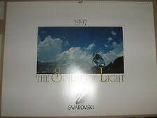 CALENDARIO SWAROVSKI 1997 Introvabile Photo Calendar Art limited