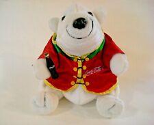 Coca Cola Plush Polar Bear Vintage 1998 Stuffed Animal Toy Beanbag Collectible