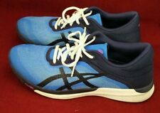 ASICS T768N FuzeX Rush FuzeGel Blue Running Shoes Women's Size 11