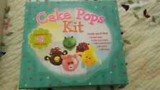 Cake Pops Kit With Recipe Book, Cake Pop Stand, 48 Ties, 48 Sticks & 48 Bags NEW