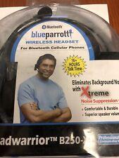 Blue Parrot B250-XT USB Bluetooth Wireless Trucker Headset VXI Phone Parrott