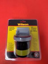 Wilson Power Outlet with Phone Holder Car Charger w/ 2 USB Ports and 2 DC Ports