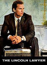 The Lincoln Lawyer Blu-ray (2011) Matthew McConaughey ***NEW***