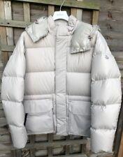 "AW18 Moncler glaciar Down Jacket-Talla 4-Marfil - 24.5"""