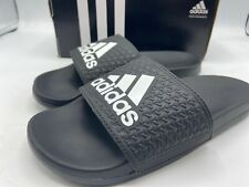 Adidas Size 2Y Youth Black Slides B27894 New - adilette CLF+