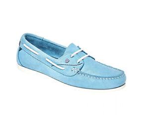 Dubarry Aruba Ladies Nubuck Leather Deck Shoe Non Slip Non Marking
