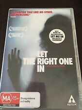 """""""Let The Right One In"""" (DVD, 2009, PAL Reg 4) A Vampire Tale *VGC*"""