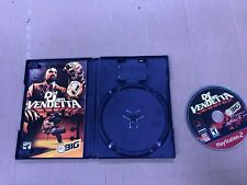 Def Jam Vendetta Sony Playstation 2 PS2 Complete in Box Tested Working