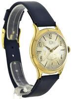 GUB Glashütte Vintage Herrenuhr Armbanduhr Handaufzug Kal. 60.3 ~ 1955 Ø 34,5mm