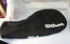 wilson tennis racket bag black