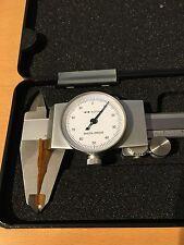 Uhrenmessschieber Messschieber Schieblehre mit Rundskala 150 mm /0,01 mm Neu!