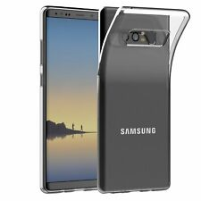 Case for Samsung Galaxy Note 8 Ultra Slim Clear Silicone GEL Protective Cover