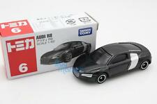 NEW Takara Tomica Tomy #6 Audi R8 Supercar Scale 1/62 Diecast Toy Car Japan
