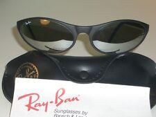 VINTAGE B&L RAY BAN PS7 BLACK G15 FULL MIRROR LENS CATS PREDATORS SUNGLASSES NEW