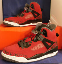 Nike Air Jordan Spizike Toro Bravo Raging Bull Gym Red Black SZ 17 (315371-601)