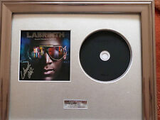 LABRINTH - ELECTRONIC EARTH CD SIGNED/AUTOGRAPHED FRAMED PRESENTATION