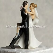 "SALE ""Super Sexy Dancing"" Cake Topper -Bride Groom PRICE DROP!!!!"