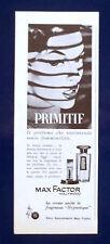 A525-Advertising Pubblicità-1960-PRIMITIF MAX FACTOR - PROFUMI