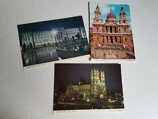 London Westminster Abbey St Pauls Buckingham Palace Vintage Postcard Lot